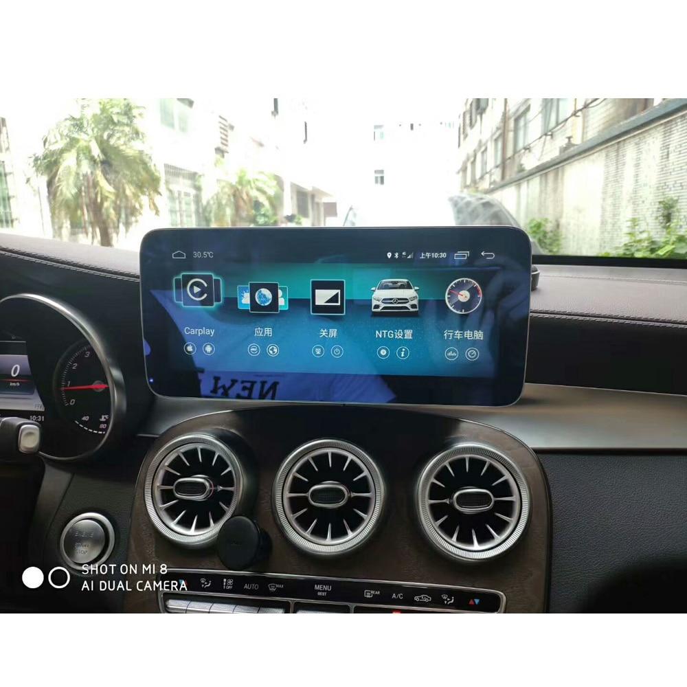 10.25 pouces 4 + 64G Android affichage pour Mercedes Benz GLC C classe W205 2015-2018 voiture Radio écran avec GPS Navigation Bluetooth - 2