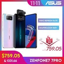 ASUS Zenfone 7/ 7pro Snapdragon 865/865 Plus NFC Android OTA 5000mAh QC 4.0 8GB RAM 128/256GB ROM 6.67″Display Smartphone