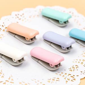 Tape-Dispenser Masking Desktop Washi Creative Office Macaron Mini with Practical