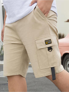 Men's SHORTS Pocket Trouers Cargo Male Summer Casual 95%Cotton Brand Bigger Classic 28-50inch