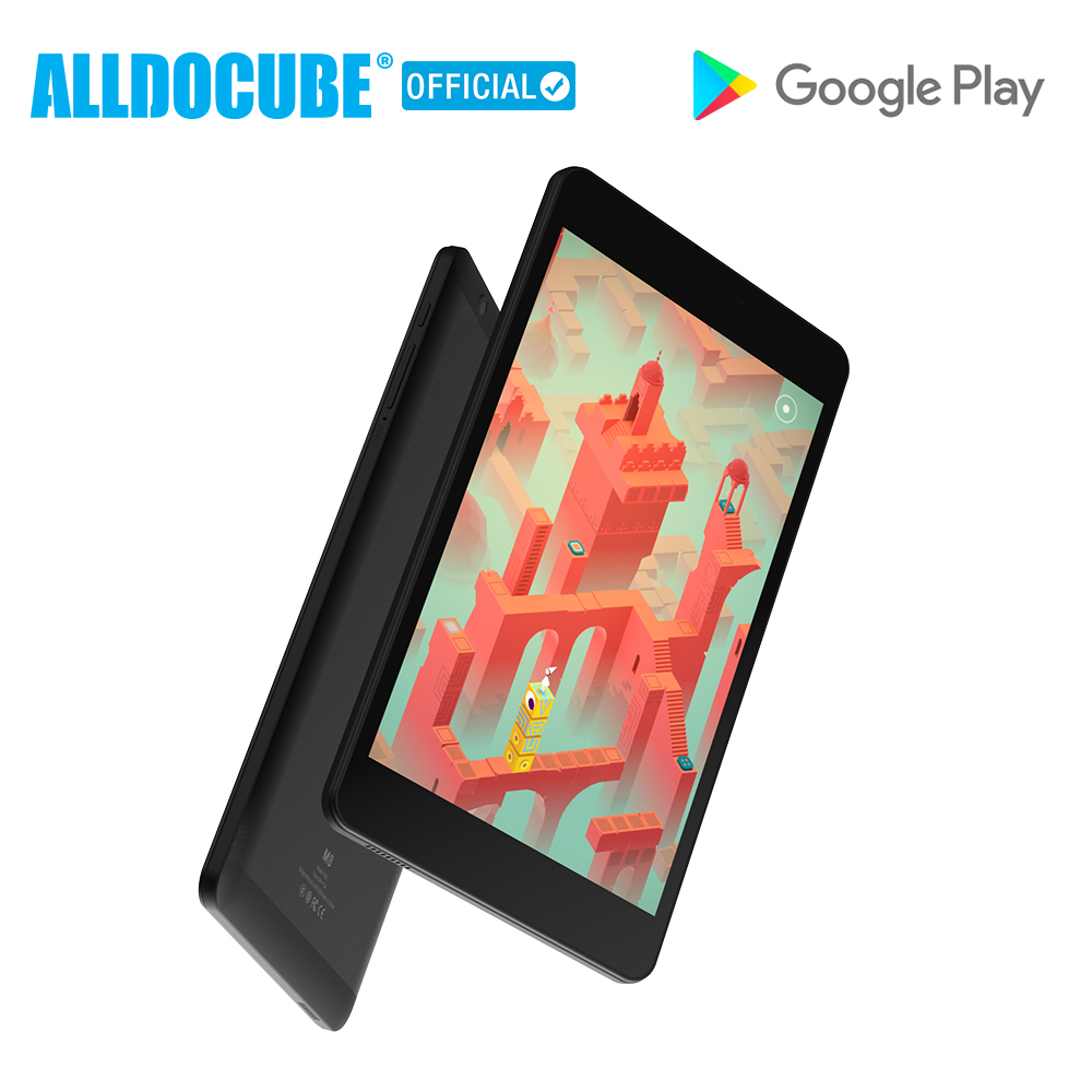 Alldocube M8 4G Phone Call Tablet PC  MT6797X Helio X27 Deca Core 8 Inch 1920*1200 Android 8.0 3GB RAM 32GB ROM Dual SIM GPS OTG