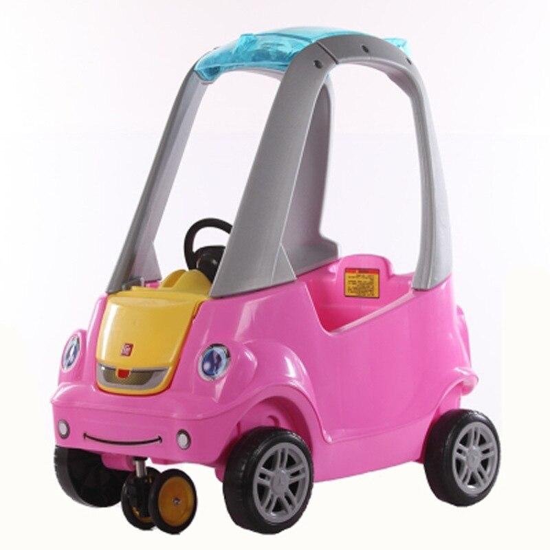 Bebé europeo de 1-3 años de edad paseo en juguetes de 4 ruedas scooter bebé andador con música 3D Delune primaria mochilas de escuela para niñas de búho de dibujos animados los niños ortopédicos libro carteras 6-108 Mochila de grado 1-3