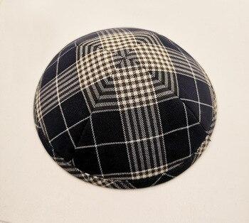 Popular Linen Kippah Jewish Kippah Holiday Kippah Suitable Jewish Hats, Jewish Costumes