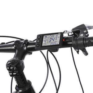 Image 5 - אופניים חשמליים בקר 24V/36V/48V 250W/350W Brushless בקר עם LCD לוח תצוגת חשמלי e אופני קטנוע