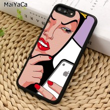 MaiYaCa Blanche-Neige Méchante Reine Pour iPhone 5 6 7 8 plus 11 Pro X XR XS Max Samsung Galaxy S7 S8 S9 S10(China)
