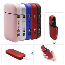 Obudowa PC w kolorze czarnym dla IQOS dla IQOS 2 4 Plus II III elektroniczny papieros dla IQOS pełna obudowa ochronna tanie tanio TECTINTER Other IQOS Protective case Ciężka torba