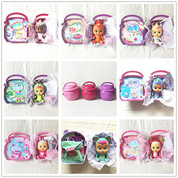 Original bebê bonecas chorar bebê tina/rosie rena/bruny dragão/dina dinossauro/unicórnio sonhador/feli/jassy paci casa crianças boneca brinquedos