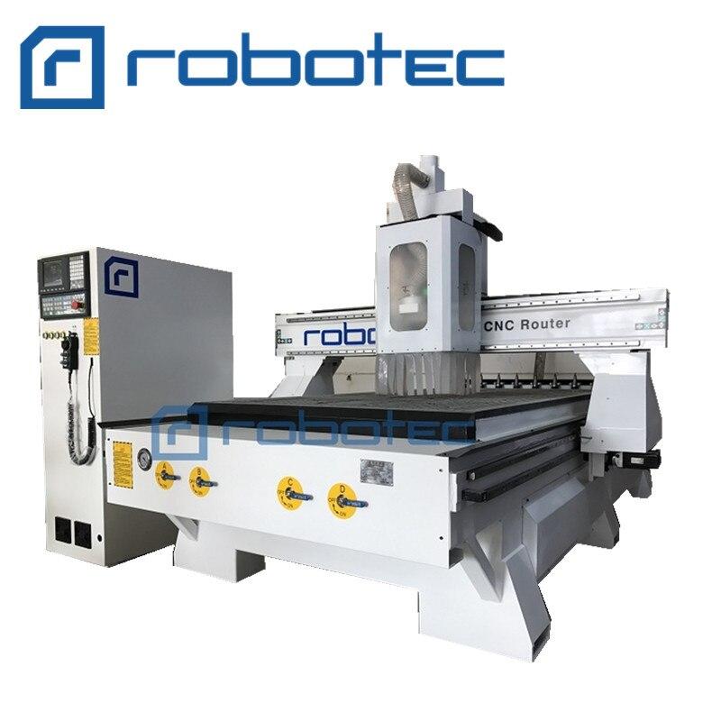 Jinan Robotec Factory 1325 Atc Cnc Router For Wood
