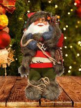 Christmas Snowman Doll Christmas Ornament For Kids Gift Christmas Santa Claus Beard Plush Dolls Home Decor Christmas Doll Gifts