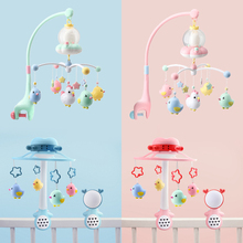Music Box Rattles For Kids Baby Toys 0 6 12 Months Mobile On The Bed Bell Educational Toys 0 Newborns Nightlight Rotation Rattle
