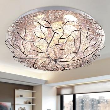 Modern LED Bedroom Ceiling lights children's room lighting Nordic Novelty living Bird's nest lamps - discount item  30% OFF Indoor Lighting