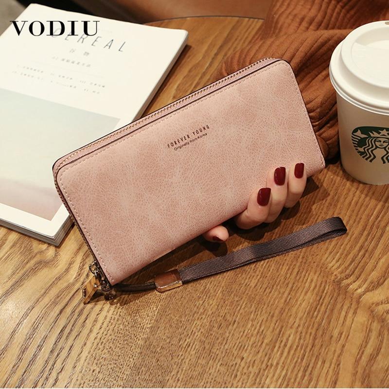 Long Clutch Women Wallet Large Capacity Zipper Purse Phone Procket Male Wallets Women Multifunctional Card Holder Coin Wallets