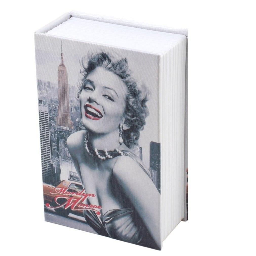 Exquisite Creative Book Safe Creative Book Insurance Box Money Box Book Small Key Box Creative Storage Gift