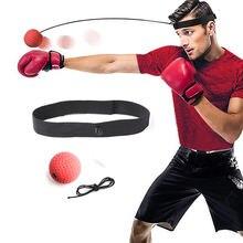 Налобный боксерский мяч тренировочный для тренировки реакции