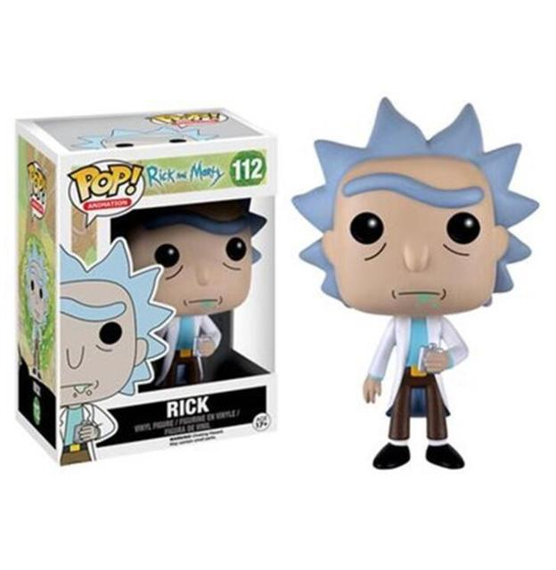Funko POP Rick and Morty 2020 Action Figures PVC Model Boy Girl Kids Toys Collection Model Toys