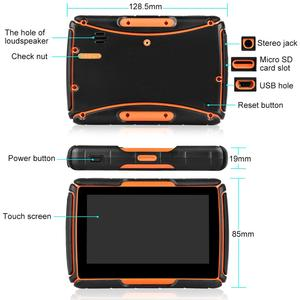 Image 4 - Fodsportsรถจักรยานยนต์GPSนำทางHD DVRระบบAndroid WIFIบลูทูธ 4.3 นิ้วTFT Touch Screen IPX7 กันน้ำ