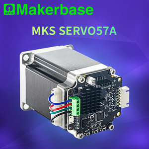 Makerbase MKS SERVO57A NEMA23 closed loop stepper motor Driver CNC 3d printer parts prevents losing steps for Gen_L SGen_L(China)