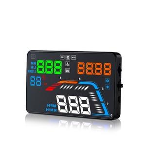 Image 5 - GEYIREN A100S avec pare brise Q700 voiture HUD tête haute affichage OBD II EUOBD pare brise projecteur Auto électronique mieux que C60 C80