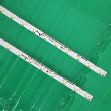 2 pçs/lote tira Retroiluminação LED para Samusng 55NU7100 UE55NU7300 UE55NU7100 UE55NU7105 AOT_55_NU7300_NU7100 BN96-45913A BN61-15485A
