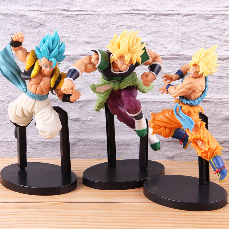 Super Saiyan God Gogeta Z Battle Figure Dragon Ball Super Figurine Toy No Box
