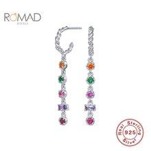 Romad роскошные 925 стерлингового серебра ювелирные изделия