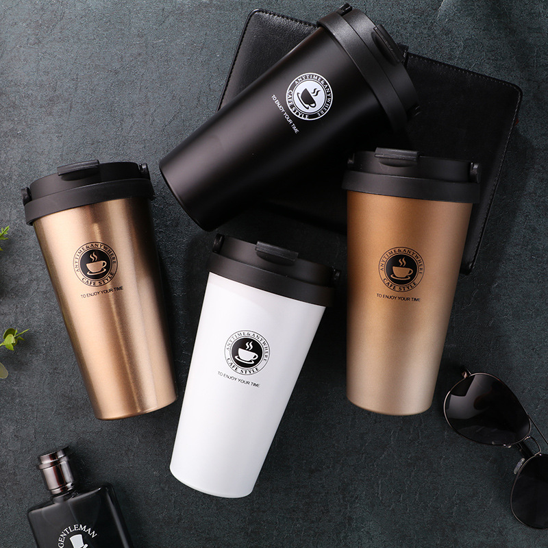 Stainless Steel Thermos Cups Thermocup Insulated Tumbler Vacuum Flask Garrafa Termica Thermo Coffee Mugs Travel Bottle Mug title=