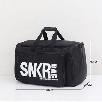 2019 Men Women Gym Bag For Sneaker Shoes Compartment Packing  Organizer Waterproof Nylon Sport Travle Duffel Bags Wholesale 5
