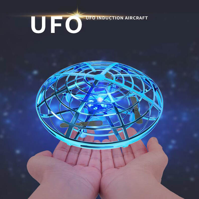 UFO Ball Flying Aircraft Anti-collision Hand UFO Helicopter Mini Drone Small Intelligent Induction Quadcopter Drones For Kid Toy