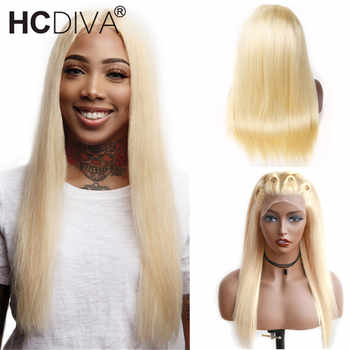 613 Blonde Lace Front Wigs 150% Lace Front Human Hair Wig Pre Plucked With Baby Hair Remy Tranasparent Lace Blonde Brazilian Wig - DISCOUNT ITEM  63% OFF All Category