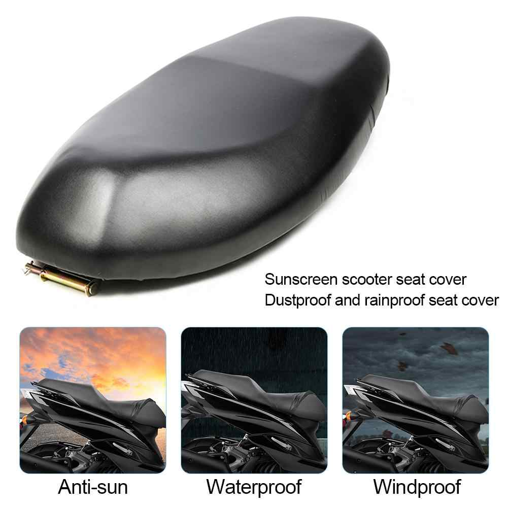 VENTDOUCE Waterproof Motorcycle Seat Cover Motorbike Scooter Cushion Protector Dustproof Rainproof Sunscreen