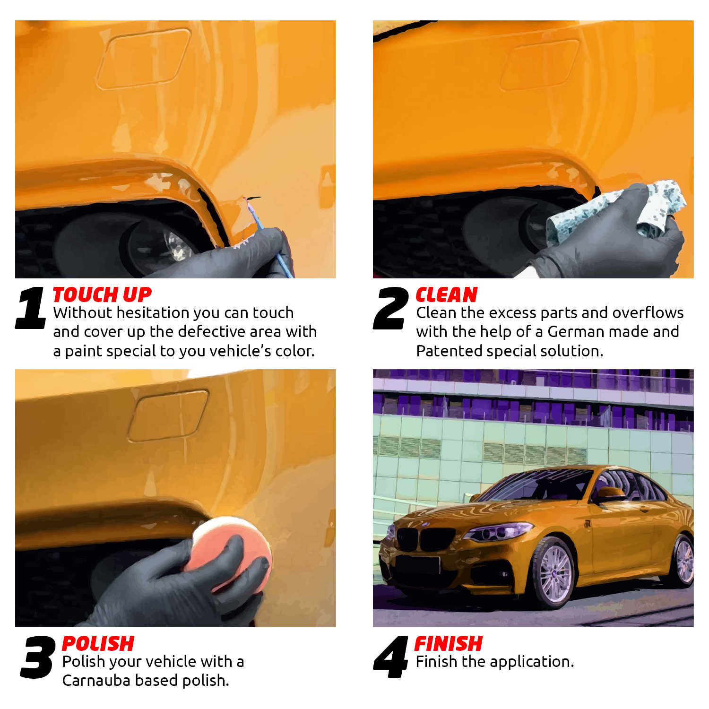 Цвет и краска для Citroen автомобильная краска для ремонта царапин синий цвет