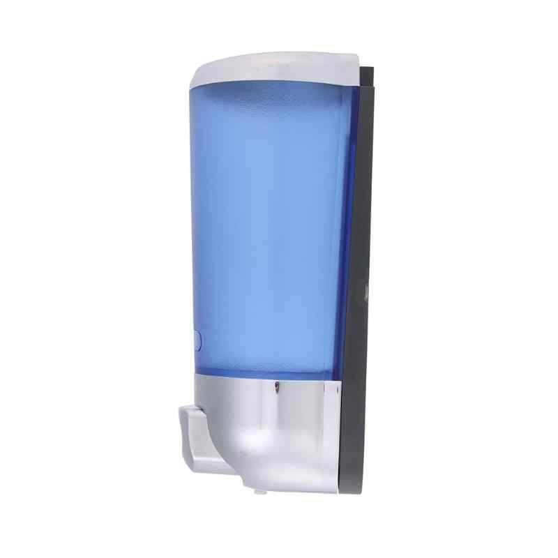 500ml do montażu na ścianie mydło w płynie dozownik ABS galwanicznie szampon Sanitizer łazienka prysznic dozowniki pojedyncze głowy ręcznie mydło Box