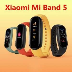 Xiaomi Wristband Fitness-Tracker Sport-Bracelet Amoled-Screen Heart-Rate Original 5