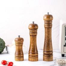 Pepper-Grinder Cooking-Tool Ceramic Kitchen Solid-Wood 5-8-10-Adjustable