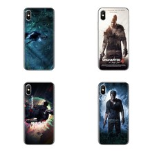 Untuk iPhone X Max XR X 4 4S 5 5S 5 5C Se 6 6S 7 7 Plus samsung GALAXY J1 J3 J5 J7 A3 A5 Drake Uncharted 4 A Thiefs End Soft Covers(China)