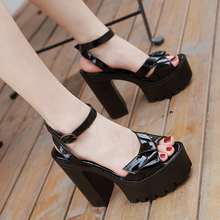 block heel shoes chunky sandals Casual Shoes woman sandals 2020 summer heels gladiators summer sandals women punk sandals YMB196 chunky heel sandals punk shoes sandals high heels platform sandals women summer shoes sandalias romanas women s sandals yma160