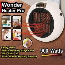 Ventilador elétrico aquecedor 900w acessível aquecedor portátil escritório em casa quente ventilador de ar instantâneo quente fogão do radiador remoto inverno mais quente