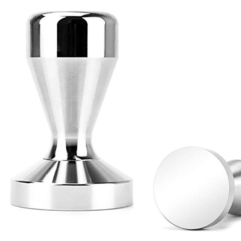 AREYOUCAN 51mm Or 58mm Aluminium Alloy With Chrome Plated Base Coffee Tamper For Espresso Coffee Machines Press Coffee Grind