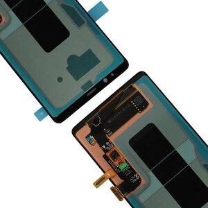 """Image 5 - Nieuwe 6.3 """"Originele Amoled Lcd Display Voor Samsung Galaxy NOTE8 Lcd N9500 N9500F Lcd Touch Screen Vervangende Onderdelen + Frame"""