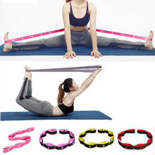 Elastic Leg Ballet Band Door Stretching Strap Yoga Exercise Foot Stretcher UK Resistance Bands