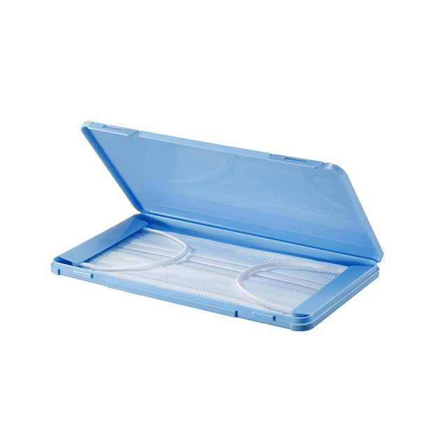 Disposable Face Masks Portable Storage Box KF95 KF99 N95 DS2 3M FFP3 FFP2 Masks Dustproof Storage Case Organizer Container 4