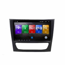 9.66 Inch Android RAM 4/2/1G Car Multimedia GPS Navigation Video DVD 4 G WiFi System+Frame For Mercedes-benz E-class Series