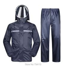 MEIBIN непроницаемый прочный дождевик для езды на мотоцикле, дождевик, дождевик для езды, пончо [раздельный] Водонепроницаемый дождевик для рыбалки, фермы, на открытом воздухе