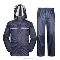 MEIBIN Impermeable duradero 2019 Impermeable pantalones de lluvia para motocicleta poncho de montar [dividido] Impermeable granja de pesca al aire libre