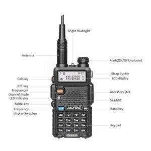 Image 2 - 2 pezzi Baofeng DM 5R Walkie Talkie Digital DMR Radio VHF UHF DM 5R Ham Radio amatoriale HF Transceiver DM5R compatibile con Motorola