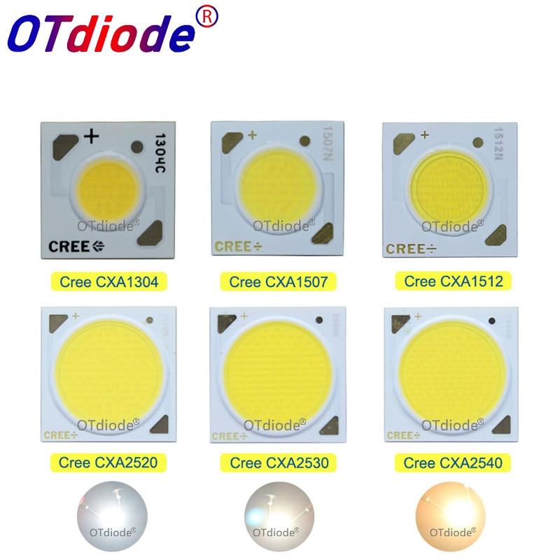 1-10PCS Cree Cob CXA1304 CXA1507 CXA1512 CXA1816 CXA1820 CXA2530 CXA2540 LED CRI80 3000K 4000K 5000K LED Chip Diode COB