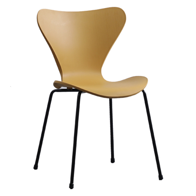 Minimalist Dining Chair Cheap Nordic Cafe Chair Modern Restaurant Chairs Plastic Living Room Furniture Metal Sillas Comedor|  - title=