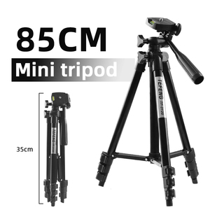 Image 2 - MountDog 35 85cm Adjustable Mini Tripod Stand For Phone Mount Holder With Phone Clip For GoPro Action Camera