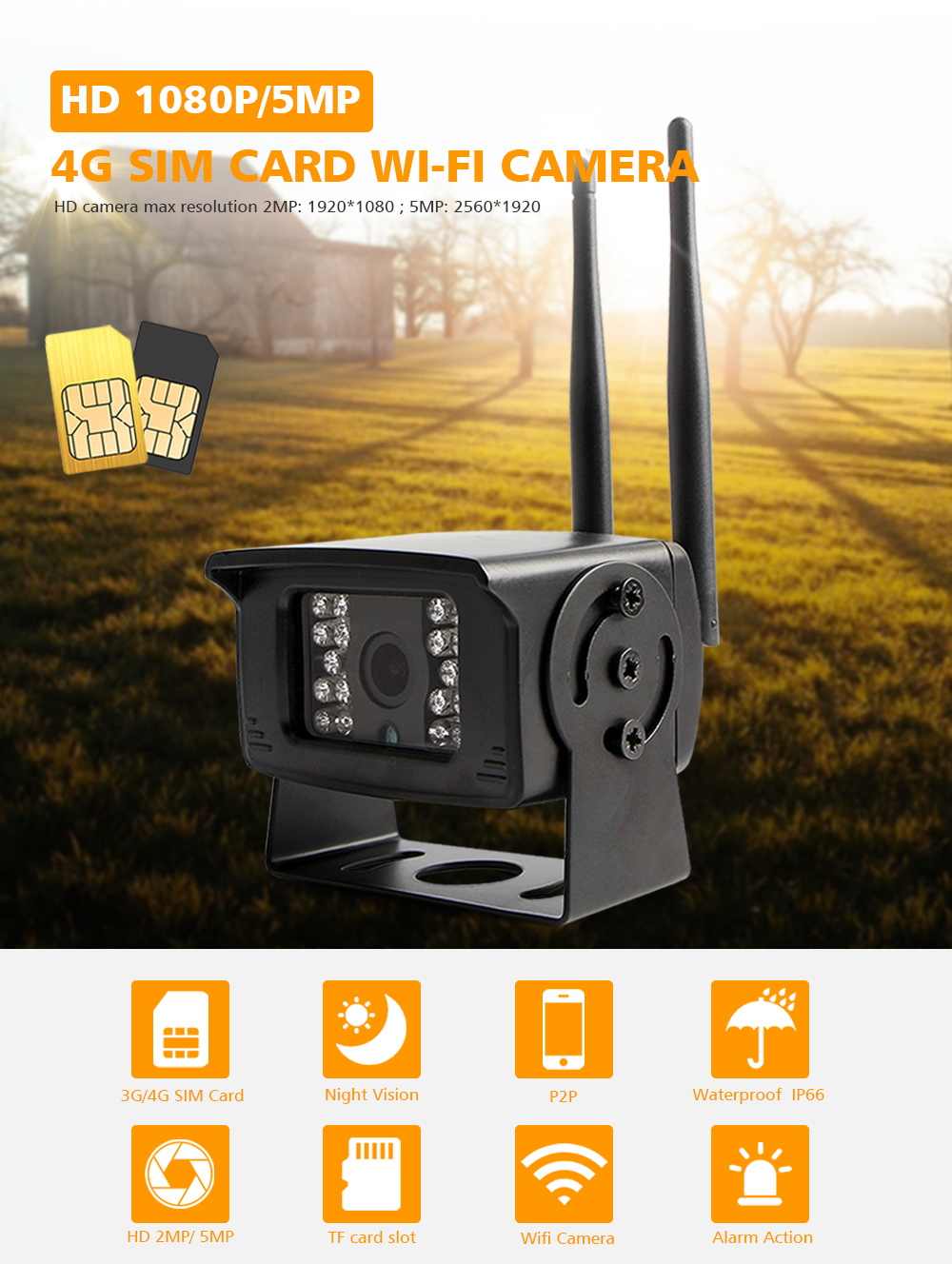 4G WIFI IP Camera (1)