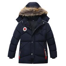 Chłopcy kurtki jesień zima kurtki dla dzieci płaszcze dzieci ciepłe kurtki płaszcze dla chłopców kurtka maluch chłopiec ubrania 3 4 5 lat tanie tanio KEAIYOUHUO Na co dzień COTTON Poliester Boys warm Coats Pasuje prawda na wymiar weź swój normalny rozmiar Heavyweight